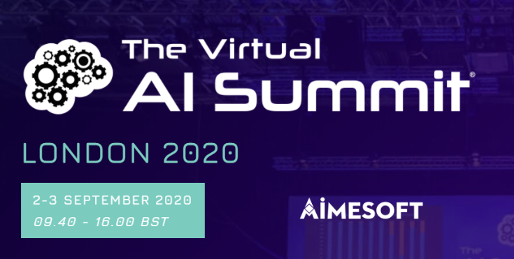 Aimesoft exhibits at the AI Summit London 2020