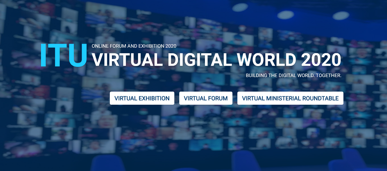 ITU Digital World 2020(ITU 디지털 월드) 행사 참여