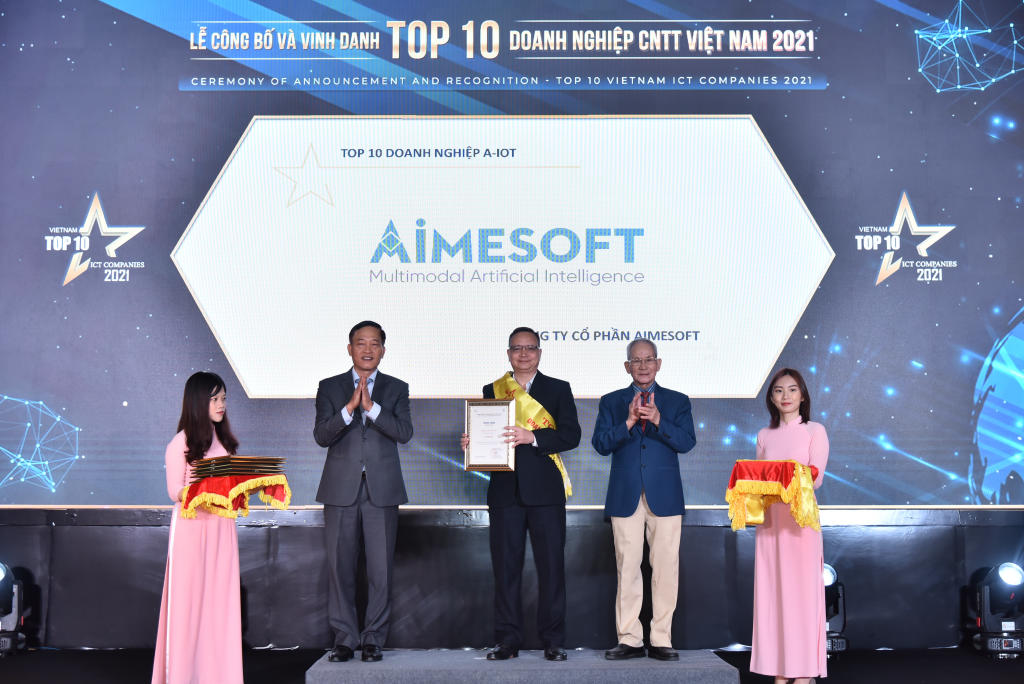 Aimesoft JSC named as one of Top 10 AI companies in Vietnam